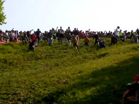 Cheese Rolling 2009 at Cooper
