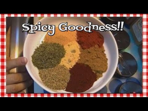 How To Make Salt Free Fajita Seasoning