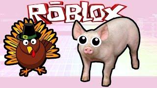 Roblox: THE FUNNEST GAME EVER!!! | Fun Run; Thanksgiving Edition