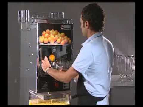 presse oranges machine a jus santos32 youtube. Black Bedroom Furniture Sets. Home Design Ideas