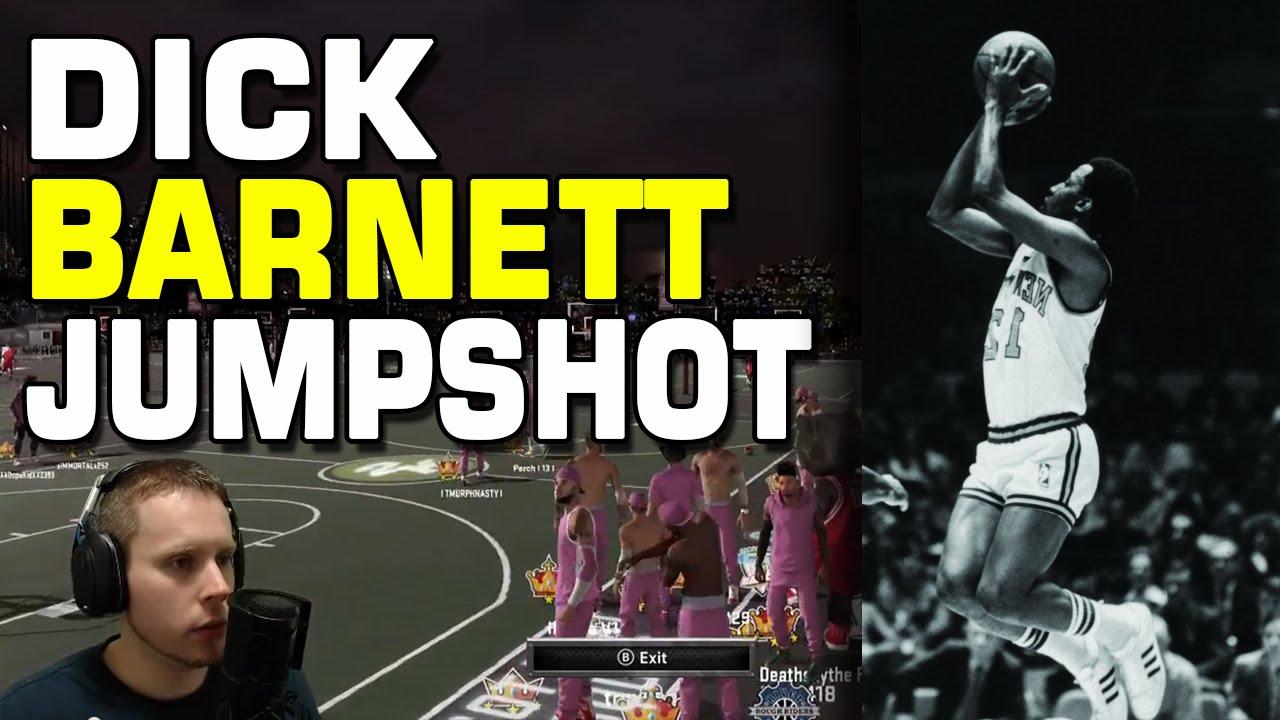 NBA2K15 Dick Barnett Jumpshot on myPark