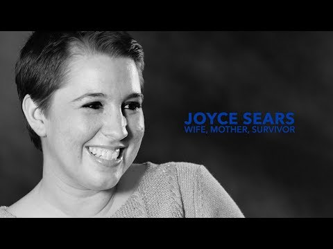 Joyce Sears survived a massive clot in the brain. This is her story.