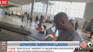 LIVE: Arriving LAGOS, will be attending UNILAG's Town Hall Meeting Later Today #TakeItBack