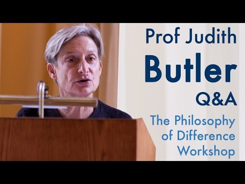 Can the vulnerable use their vulnerability as an agent of change? | Prof Judith Butler (2015)