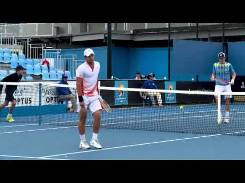 John-Patrick Smith vs Matt Reid Australian Open 2013 Play-off highlights