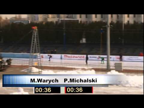 MP Łyżwiarstwo Szybkie 2012, 1500m M 2-grupa, Tor Stegny