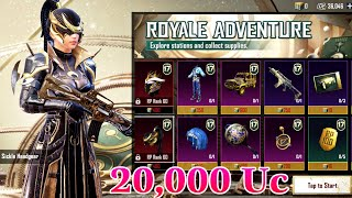 20,000 UC = Full RoyalPass + Mythic Outfit Season 17 | Pubg Mobile