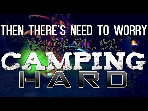 Instalok - Camping Hard (OneRepublic - Counting Stars PARODY)