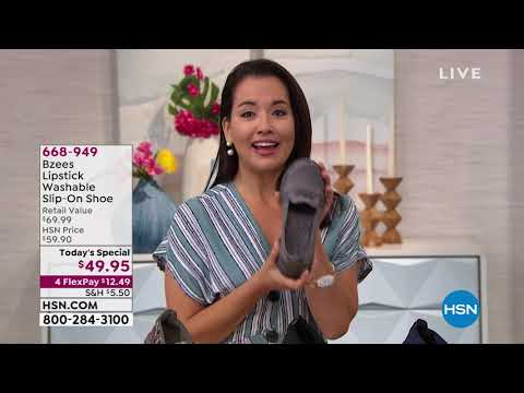 HSN | Bzees Footwear 07.25.2019 - 09 AM