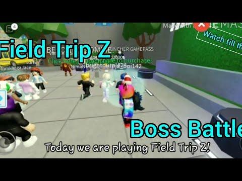 Worst Field Trip Ever Roblox Field Trip Z Youtube