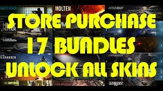 Call of Duty Modern Warfare - Store Purchase 17 Bundles Unlock All Operators in Store