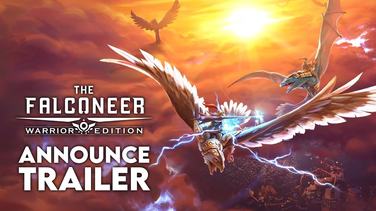 The Falconeer will release on the PlayStation and Switch consoles