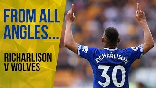 FROM ALL ANGLES: RICHARLISON'S COOL FINISH V WOLVES