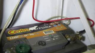 Автомобильный аккумулятор для ИБП