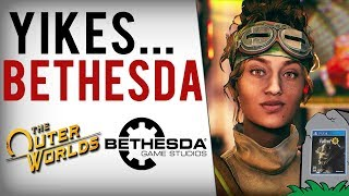 Obsidian's The Outer Worlds Makes Bethesda Look Lazy & Incompetent... Fallout 76 Protests Get Worse