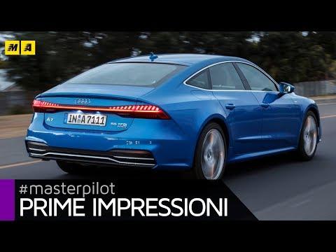 """Nuova Audi A7 2018 - interni da A8 e coda Star Trek """"inspired""""   Primo test [ENGLISH SUB]"""