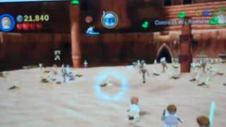 lego star wars 3 the clone wars geonosis battle arena wii