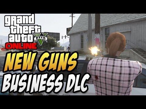 "GTA 5 Online - New Weapons ""Heavy Pistol"" & ""Special Carbine"" Guns! - ""Business DLC"" (GTA 5 DLC)"