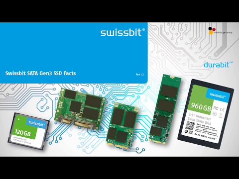 Swissbit durabit SSDs - the better MLC. Good reasons to use them
