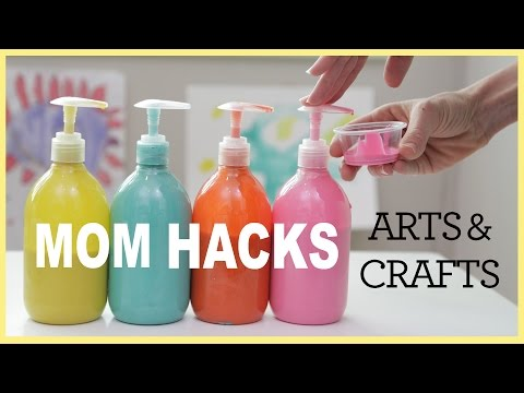 MOM HACKS ℠   Arts & Crafts (Ep. 2)