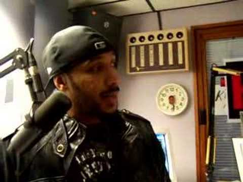 Lyfe Jennings interview at Kiss 101.7