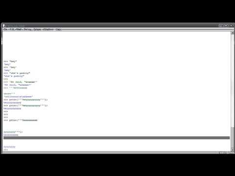 Python Tutorial 6 - Triple Quotes and Nested Quotes