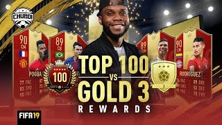 Top 100 vs Gold 3! Who Get the Better Rewards?! | FIFA 19 Ultimate Team