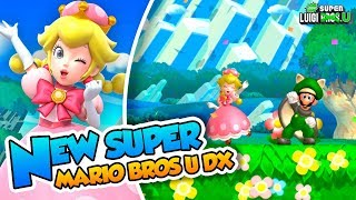¡Ya está aquí Toadette! | 01 | New Super Mario Bros. U Deluxe (New Super Luigi U)