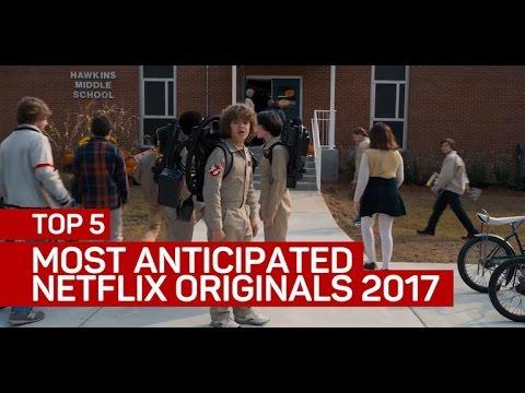 Top 5 most-anticipated Netflix originals of 2017 (CNET Top 5)