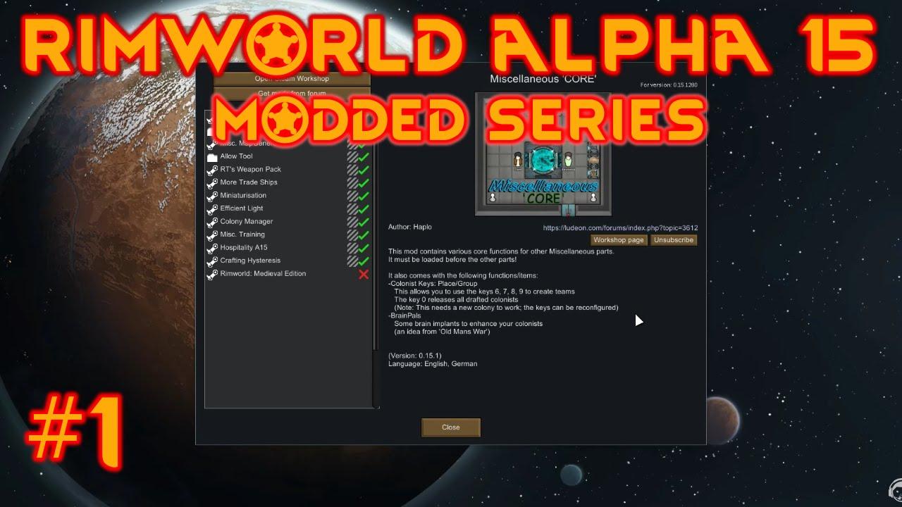 Rimworld Released Mods