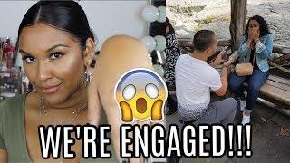I'M ENGAGED!! | PROPOSAL STORY | Natalia Garcia