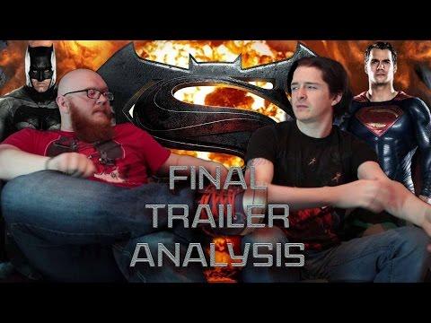 HYPETRAIN: Batman Vs Superman Final Trailer Analysis