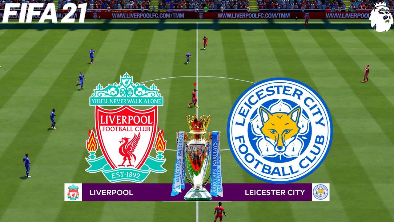 FIFA 21   Liverpool vs Leicester City - 20/21 English ...
