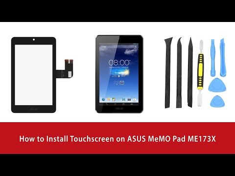 INSTALL ORIGINAL FIRMWARE OF THE ASUS MEMOPAD 8 ME181C K011