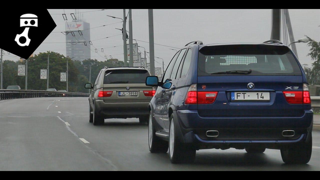 BMW X5 4.8is и 3.0d (E53) Тест-драйв; zhmuraTV