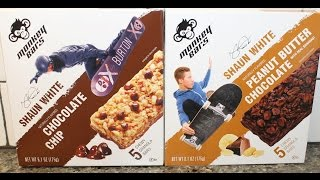 Shaun White Monkey Bars: Chocolate Chip & Peanut Butter Chocolate Review