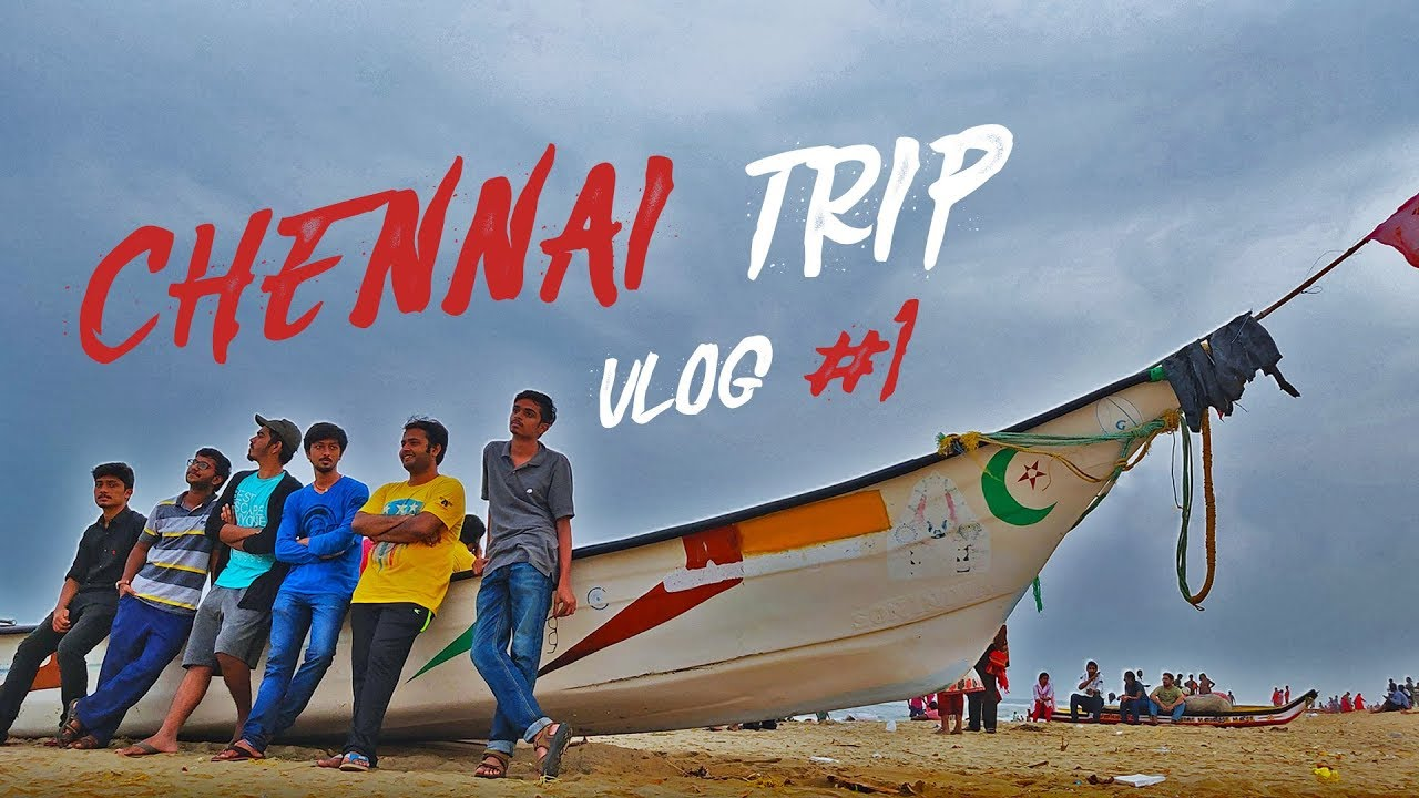 Chennai Trip Madness - Marina Beach - Guindy Zoo - Vlog #1
