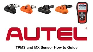 Autel TS401, how to program MX sensors