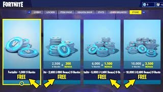 FORTNITE: FREE V-BUCKS GET! SO GEHTS!? Warning! *CLICKBAIT*