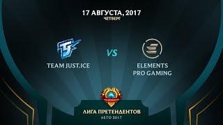 TJ vs EPG - Полуфинал 1: Игра 1