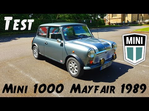 "MINI voiture, MAXI plaisir ""mini 1000 mayfair de 1989"""