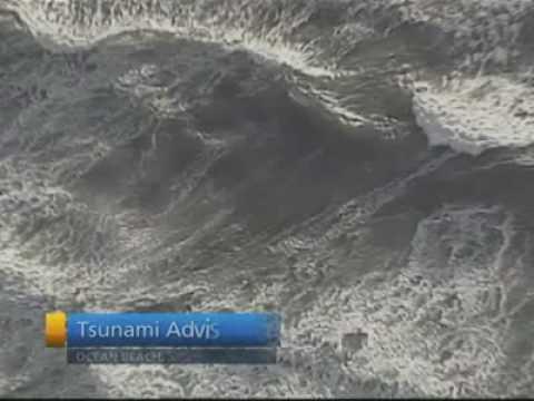Tsunami at Samoas