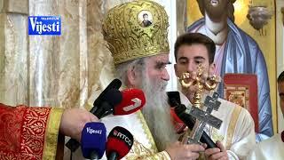 AMFILOHIJE I ŠĆEPANOVIĆ - TV VIJESTI 29.12.2019.