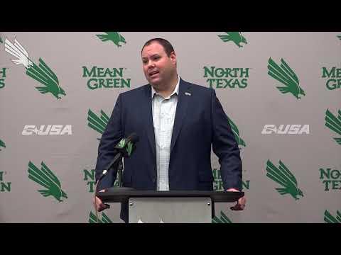 North Texas Football: AD Wren Baker Pre-New Mexico Bowl Press Conference
