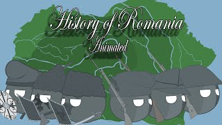 History of Romania : Animated  |Countryballs|