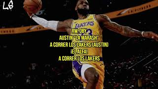 A Correr los Lakers (Remix) (El Alfa, Nicky Jam, Ozuna, Arcangel, Secreto) - LETRA