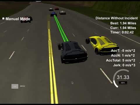 Self-Driving Car Engineer Nanodegree Program - Path Planning Project - 2