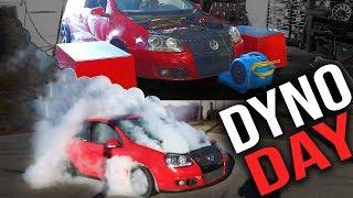 Dyno-ing Our MK5 GTI Big Turbo Build!