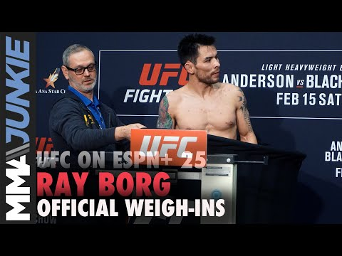 UFC On ESPN+ 25: Ray Borg Misses Weight On Second Attempt