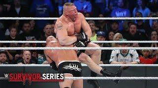 Brock lesnar vs Goldberg : Survivor Series 2016 (full match)
